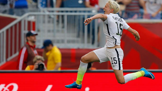 Wahl: Rapinoe, USA were good, will need to be better IMAGE