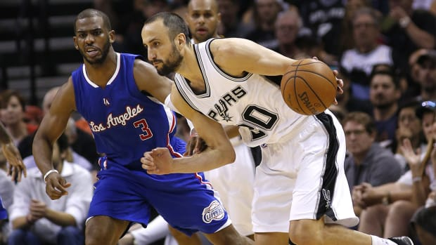 Manu Ginobili to return to Spurs for another season IMAGE