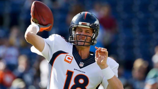 Peyton Manning Broncos QB