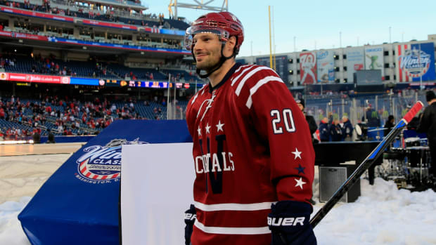 Capitals' Troy Brouwer
