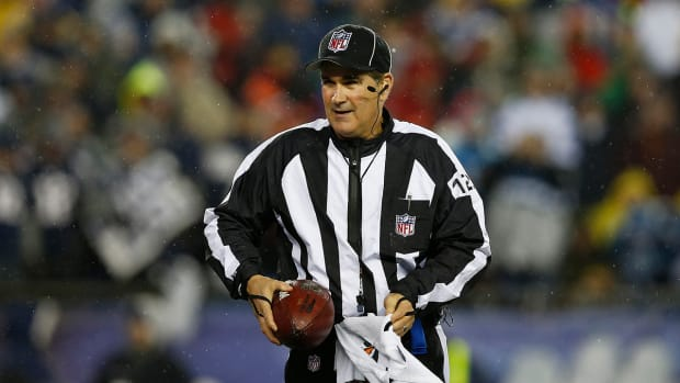 Deflate-gate started with Tom Brady interception