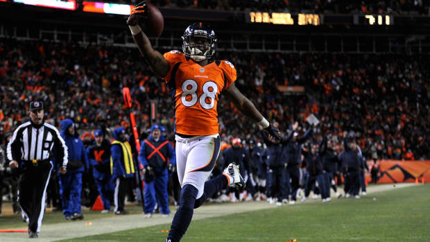 Demaryius Thomas on his contract: I'd love stay with the Broncos-image