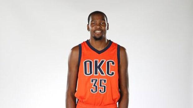 Oklahoma City Thunder reveal new alternate uniforms for 2015-16 season -- IMAGE