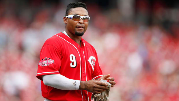 Giants acquire OF Marlon Byrd from Reds IMAGE