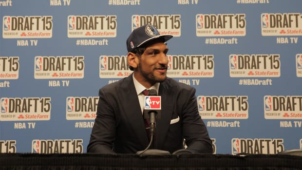 Dallas Mavericks select first Indian-born NBA draft pick-- IMAGE