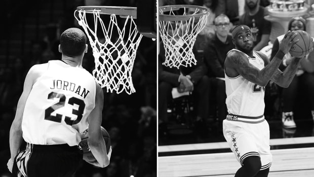 Will Zach LaVine's trash talk convince LeBron James to enter the dunk contest?- image