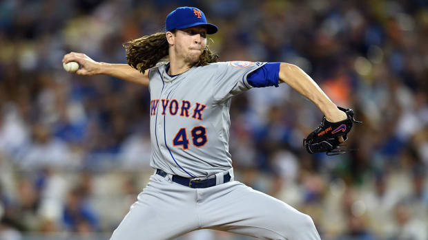Boomer: I'm confident deGrom gets it done in Game 5 IMAGE