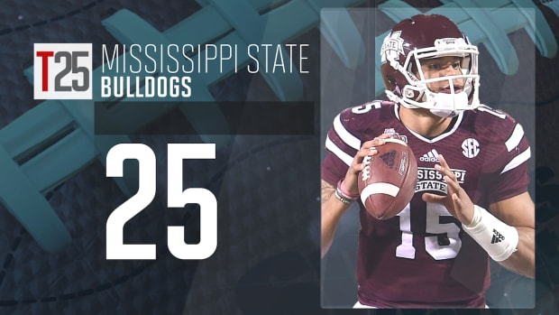 2015 college football preseason Top 25: Mississippi State Bulldogs, No. 25 IMG