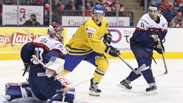 Toronto Maple Leafs recall F William Nylander from Sweden