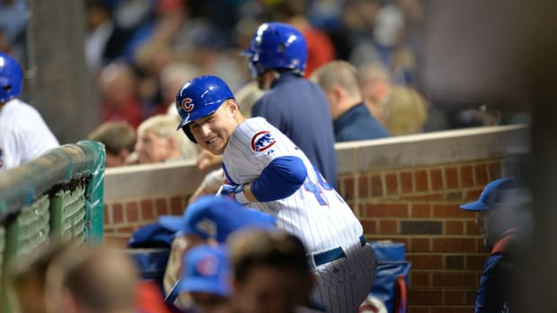 anthony rizzo chicago cubs nl central guarantee