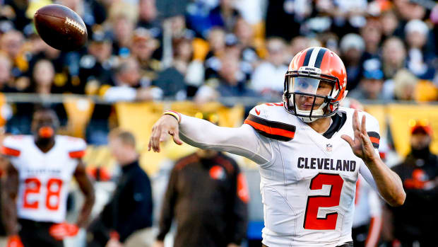 Johnny Manziel should start in Cleveland IMAGE