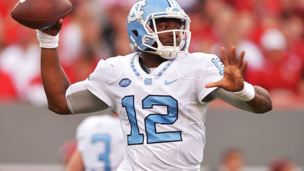 North Carolina heads back to Charlotte, this time with an upset of Clemson and an ACC title in its sights