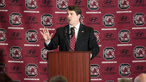 Second chance in South Carolina: Can Will Muschamp learn from his mistakes at Florida? Punt, Pass & Pork