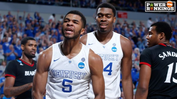 kentucky ncaa tournament power rankings sweet 16