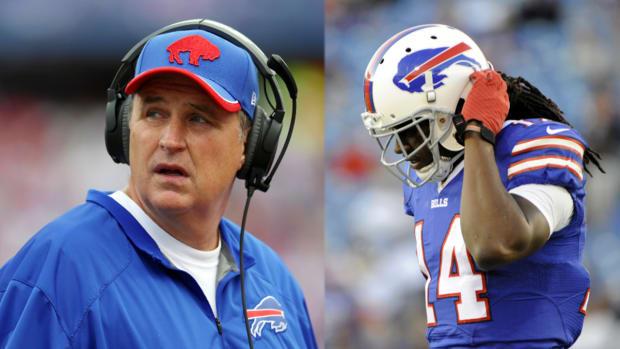 Doug Marrone was upset Bills traded up for  wide receiver Sammy Watkins