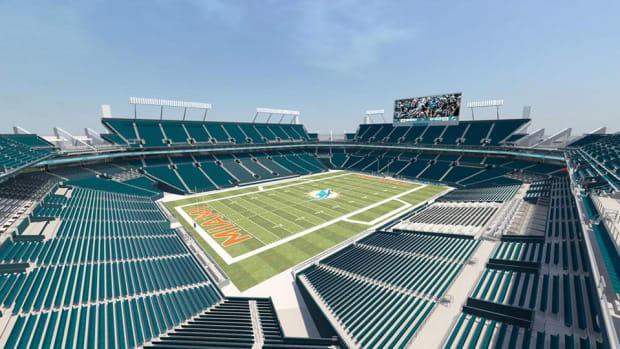 miami dolphins stadium renovations teal seats