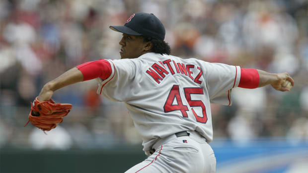 Red Sox to retire Pedro Martinez's number in July IMAGE