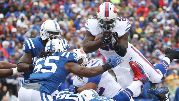 Bills' defense shocks Andrew Luck and Colts IMAGE
