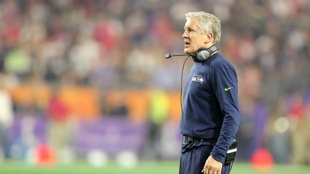 Pete Carroll continues to defend pass call at end of Super Bowl XLIX