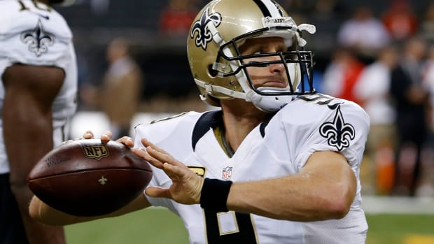 Saints QB Drew Brees to start against Cowboys  -- IMAGE