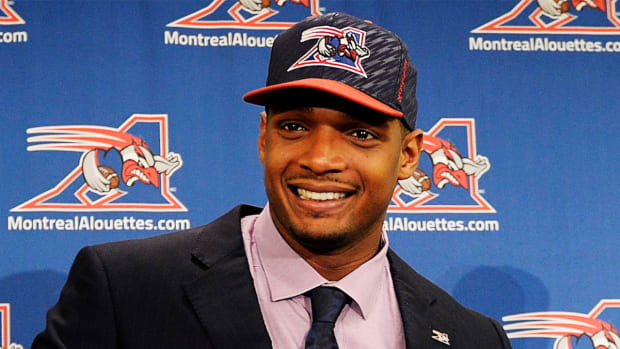 Report: Michael Sam returns to Montreal Alouettes-- IMAGE