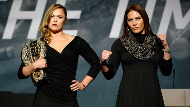 Ronda Rousey Cat Zingano