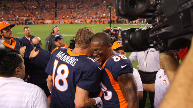 Report: Peyton Manning unhappy with Demaryius Thomas contract situation IMAGE