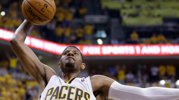 Larry Bird discusses possibility of Paul George returning this season