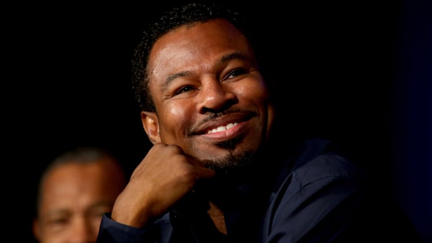 Former Champ Shane Mosley wants rematch with Floyd Mayweather and Manny Pacquiao -- IMAGE