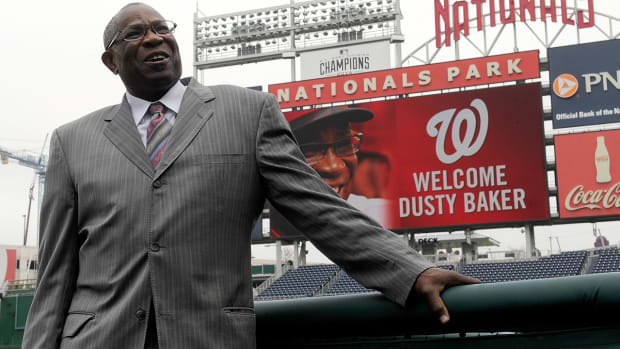 Dusty Baker on Aroldis Chapman allegations: 'I don't believe reports' - IMAGE