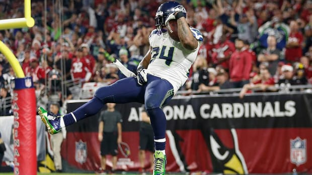 Curtis Martin: Should Marshawn Lynch be fined for TD celebrations?-image