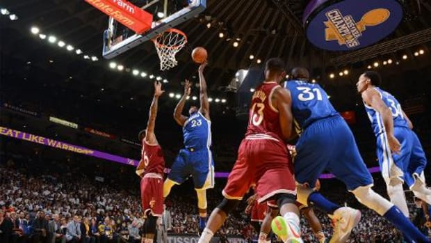 Warriors defeat Cavaliers 89-83 in NBA Finals rematch -- IMAGE
