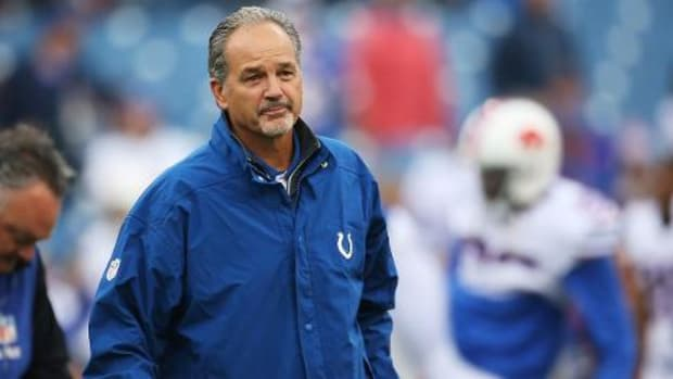 Colts owner Jim Irsay says 'no decision' made on Chuck Pagano--IMAGE
