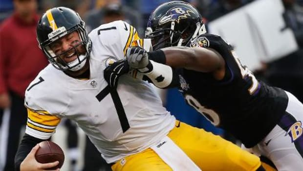 Pittsburgh Steelers playoff bid takes hit in loss to Baltimore Ravens - IMAGE