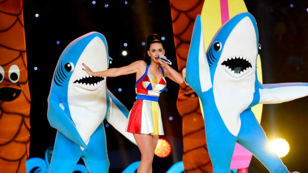 katy perry sharks super bowl halftime show