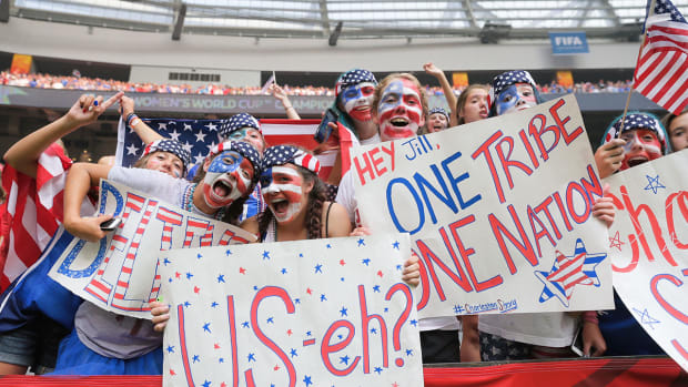 USA-Japan Women's World Cup final sets American TV record IMAGE