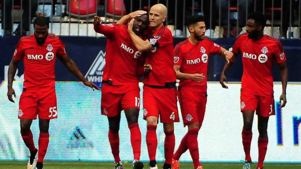 Toronto FC vs. Vancouver Whitecaps AP