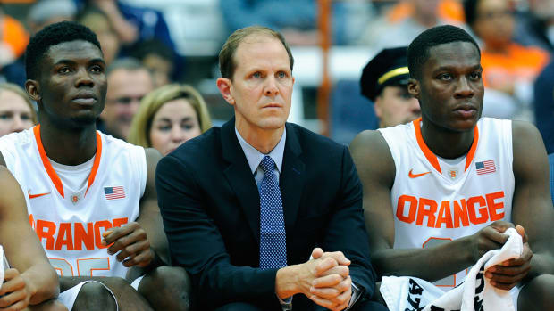 Syracuse names Mike Hopkins Jim Boeheim's successor IMAGE