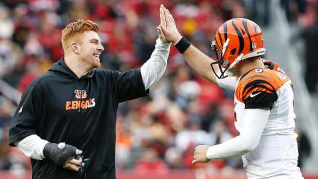 Did A.J. McCarron show Bengals enough on Sunday? IMAGE
