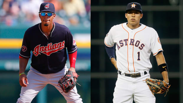 AL Rookie of the Year race down to two shortstops IMAGE