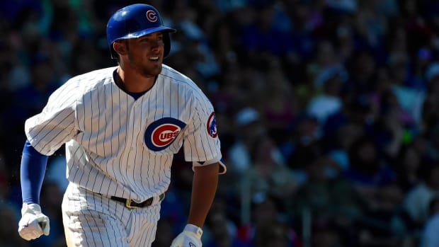 Cubs' Kris Bryant 'extremely disappointed' with demotion to minors IMAGE