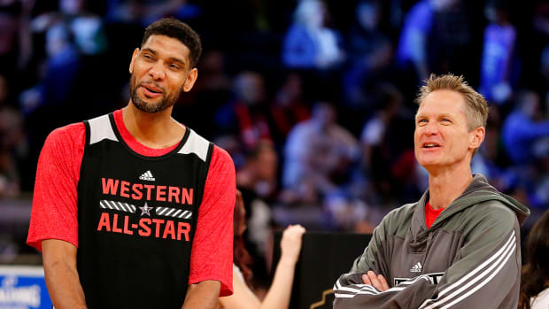 Steve Kerr on coaching All-Star team: 'I want to run Tim Duncan into the ground' - image