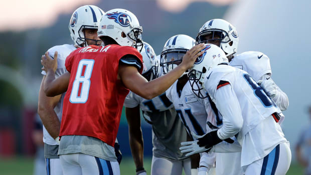 Marcus Mariota on the importance of taking care of the football  IMAGE