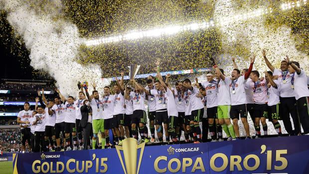 Mexico wins record 7th CONCACAF Gold Cup, beats Jamaica 3-1 in final--IMAGE