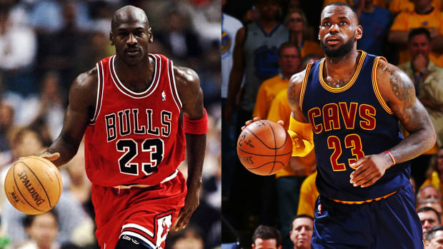 Michael Jordan says he could've beaten LeBron in prime - IMAGE