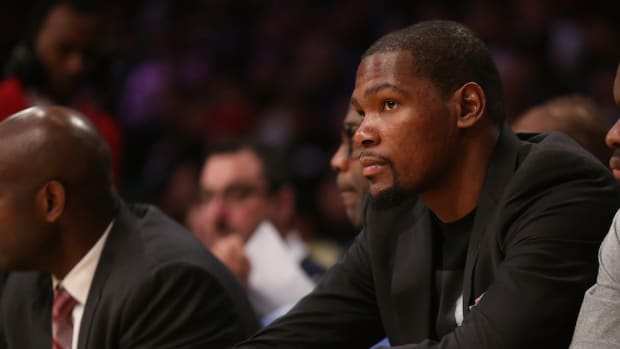 kevin durant return oklahoma city thunder