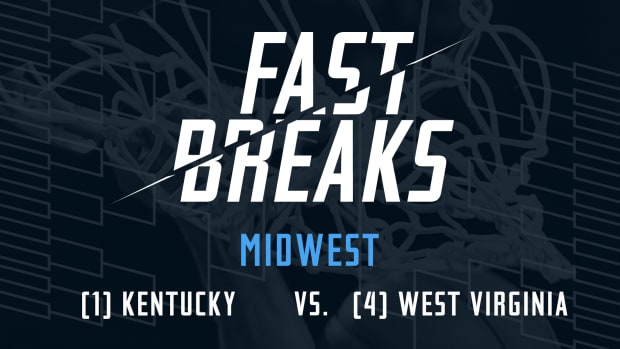Fast Breaks: (1) Kentucky vs. (5) West Virginia preview IMAGE
