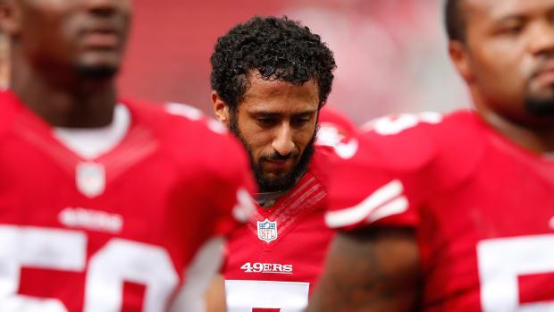 Report: 49ers bench Colin Kaepernick in favor of Blaine Gabbert--IMAGE