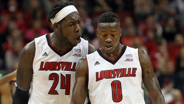 Pitino: Montrezl Harrell, Terry Rozier to enter NBA draft IMAGE