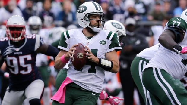 Jets show playoff potential in loss to Patriots IMAGE